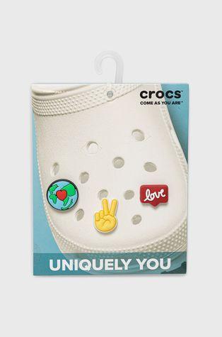 Crocs - Przypinki do obuwia (3-pack)