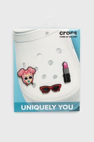 Crocs - Zawieszki charms do butów Crocs Fashionista (3-.pack)