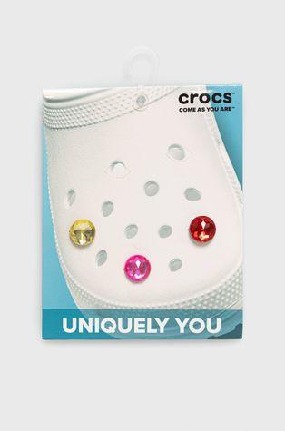 Crocs - Zawieszki charms do butów Crocs Sparkly Circle (3-Pack)