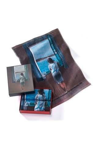 MuseARTa - Törölköző Salvador Dali - Figure at the Window (2-db)