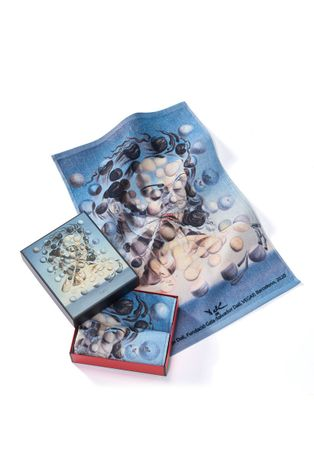 MuseARTa - Törölköző Salvador Dalí - Galatea of the Spheres (2 db)