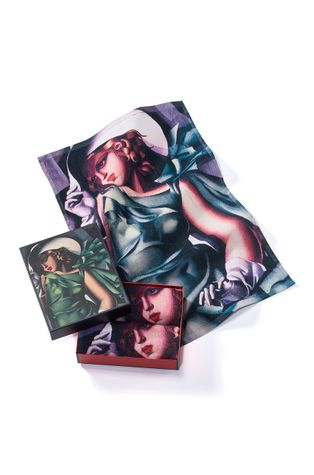 MuseARTa - Törölköző Tamara de Lempicka Young Lady with Gloves (2 db)