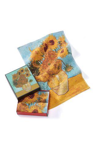 MuseARTa - Полотенце Vincent van Gogh Vase with Twelve Sunflowers (2-pack)