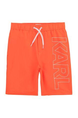 Karl Lagerfeld - Szorty kąpielowe dziecięce