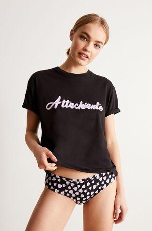 Undiz - Komplet piżamowy - T-shirt i figi ATTACHIANTIZ