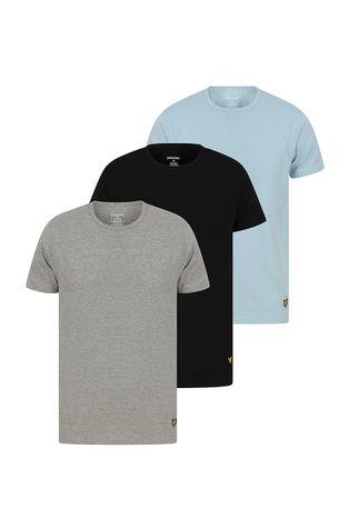 Lyle & Scott - Pyžamové tričko MAXWELL (3-PACK)