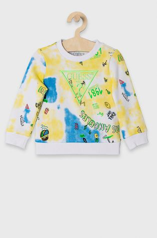 Guess - Bluza bawełniana dziecięca 92-122 cm