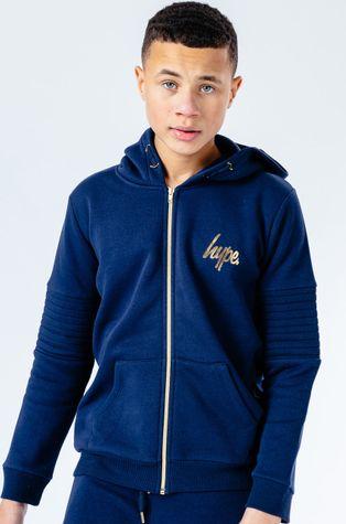Hype - Bluza dziecięca NAVY GOLD