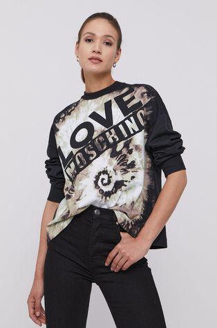 Love Moschino - Bluza bawełniana