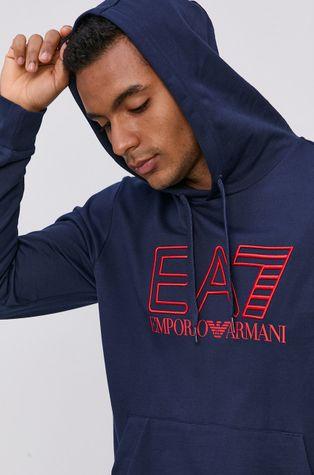 EA7 Emporio Armani - Bavlněná mikina