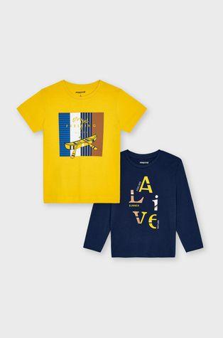 Mayoral - Zestaw - longsleeve i T-shirt dziecięcy