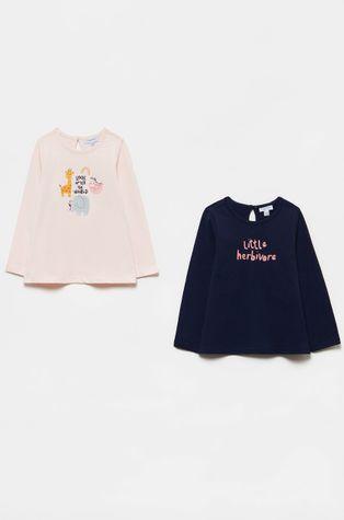 OVS - Detské tričko s dlhým rukávom (2-pak)