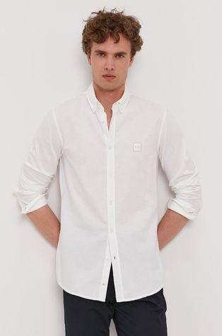 Boss - Bavlněné tričko Boss Casual