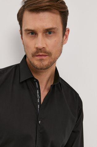 Karl Lagerfeld - Bavlnená košeľa