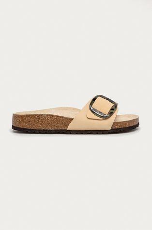 Birkenstock - Semišové pantofle Madrid Big Buckle