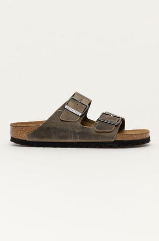 Birkenstock - Kožené pantofle Arizona