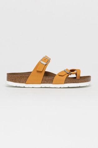 Birkenstock - Semišové pantofle Mayari
