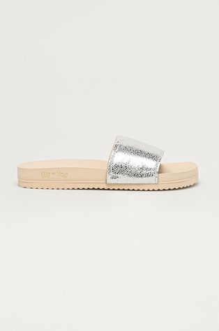 Flip*Flop - Papuci Metallic cracked