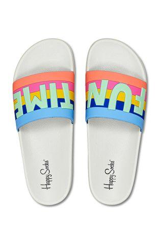 Happy Socks - Klapki Pool Slider Fun Time