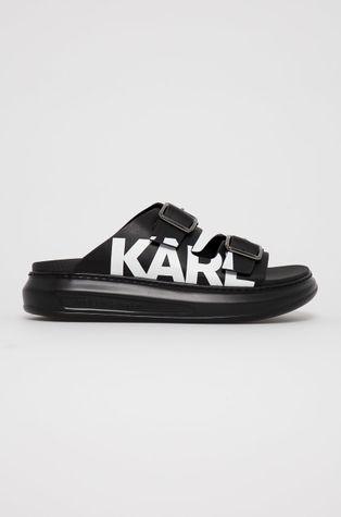 Karl Lagerfeld - Klapki skórzane