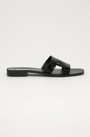 Karl Lagerfeld - Kožené pantofle