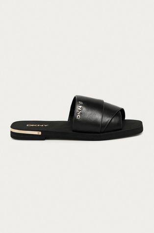 Dkny - Kožené pantofle