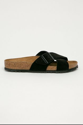 Birkenstock - Semišové pantofle Siena