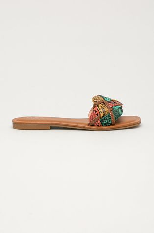 Aldo - Kožené pantofle Lothelalian