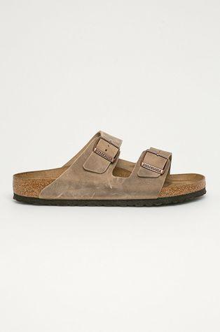 Birkenstock - Semišové pantofle Arizona Nu