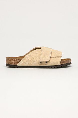 Birkenstock - Kožené pantofle Kyoto