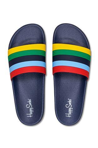 Happy Socks - Klapki Pool Slider Stripe