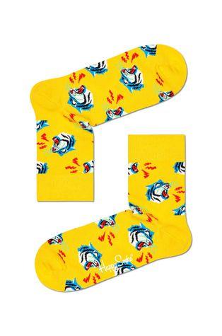 Happy Socks - Ponožky Tiger Half Crew