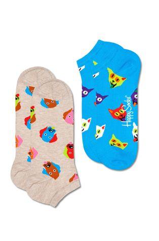 Happy Socks - Ponožky Dog & Cat Low (2-PACK)