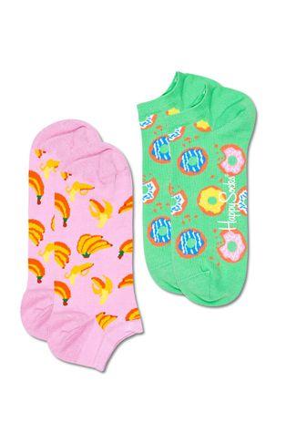 Happy Socks - Ponožky Snack Low (2-PACK)