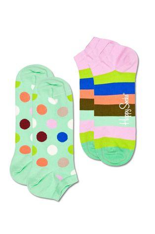 Happy Socks - Ponožky Big Dot Stripe (2-pack)