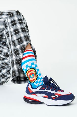 Happy Socks - Ponožky Roar Thin Crew