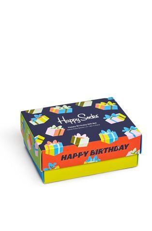 Happy Socks - Skarpetki Happy Birthday (2-PACK)