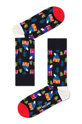 Happy Socks - Skarpetki Swedish Edition Gift (3-PACK)