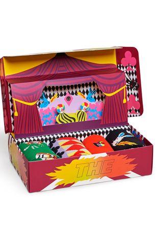 Happy Socks - Ponožky Circus Socks Gift Set (4-pak)