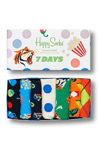 Happy Socks - Ponožky 7-Pack 7 Days Socks Gift Set (7-PACK)