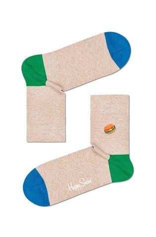 Happy Socks - Skarpetki Embroidery Burger