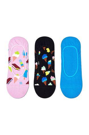 Happy Socks - Ponožky Ice Cream (3-pak)