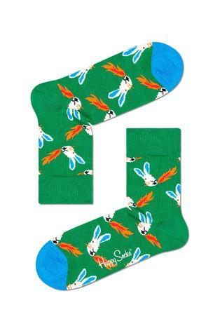 Happy Socks - Skarpety Fire Rabbit Half Crew
