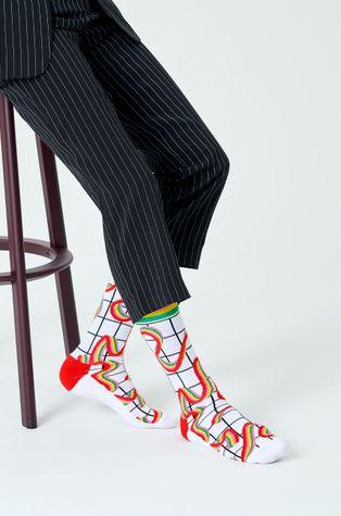 Happy Socks - Skarpety Squiggly Rainbow