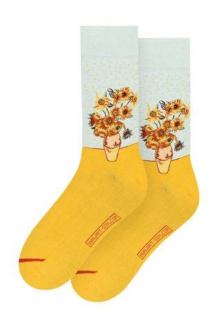 MuseARTa - Sosete Vincent van Gogh - Vase with Twelve Sunflowers