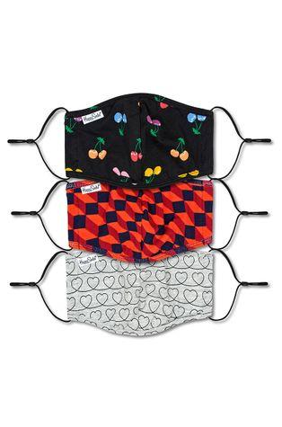 Happy Socks - Maseczka ochronna wielorazowego użytku (3-PACK)