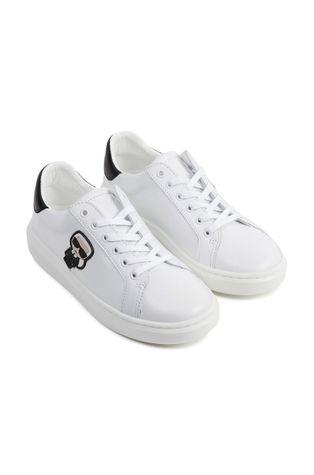 Karl Lagerfeld - Dětské kožené boty