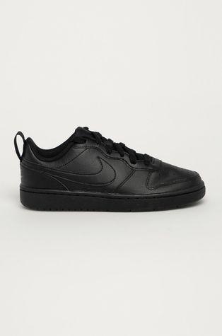 Nike Kids - Dětské kožené boty Court Borough Low