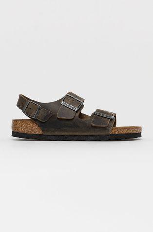 Birkenstock - Sandały skórzane Milano