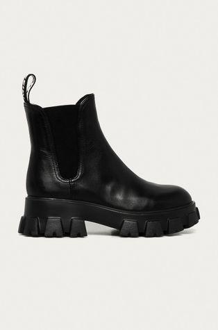 Miss Sixty - Kožené kotníkové boty